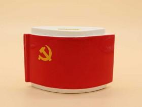 陶瓷纪念茶叶罐